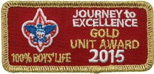 2015 Journey To Excellence Gold Award
