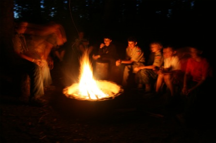 Campfire memories of Camp Hahobas