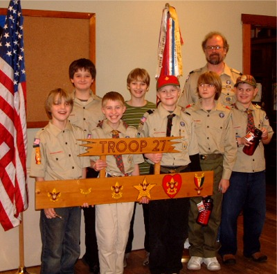 Charter Members of Troop 27