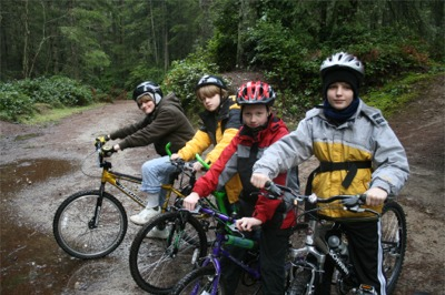 Mountain Biking at Banner Forest