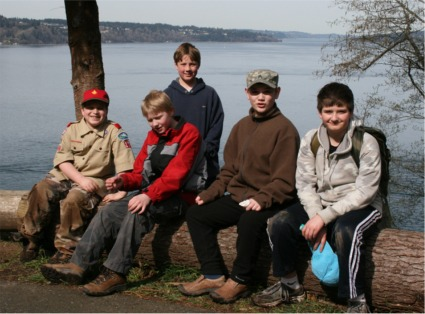 Map & Compass Hike at Point Defiance