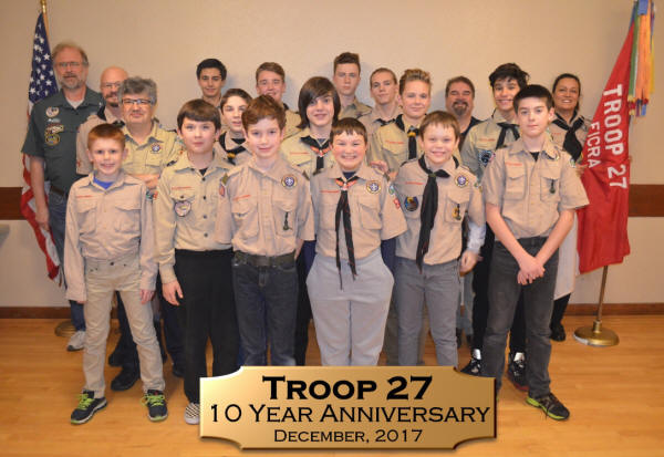 About Troop 27 of Fox Island, WA