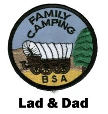 P-27 June Lad & Dad Campout @ Camp Thunderbird - Click To Enlarge