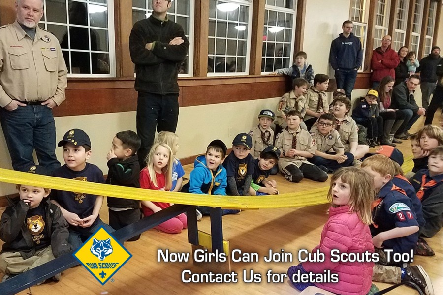 Join Cub Scouts on Fox Island