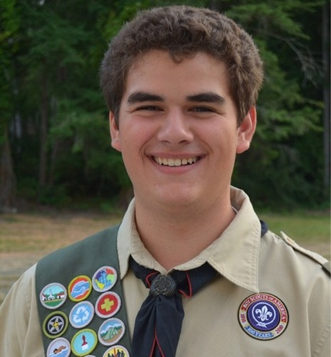 Eagle Scout Spencer Godfrey