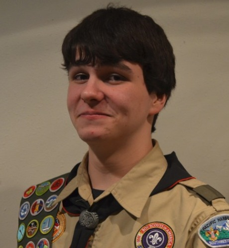 Eagle Scout Colin Wilson