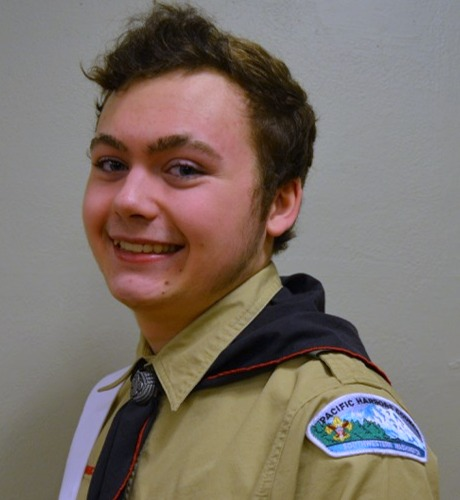 Eagle Scout Mitchell Baltmiskis