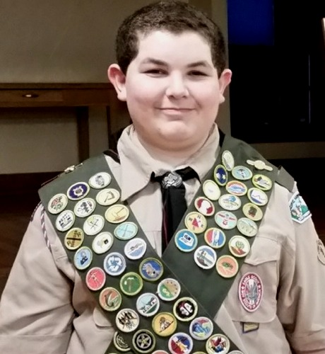 Eagle Scout Spencer Trop