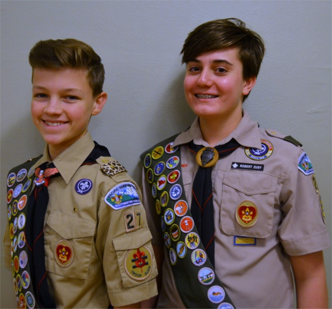 Read more: Eagle Scouts Aidan Toney and Robert Zusy