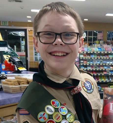 Read more: Eagle Scout DJ Schwendeman
