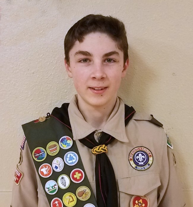 Read more: Eagle Scout Tristen Reid