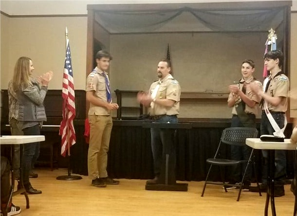Read more: Eagle Scout Reece Zusy