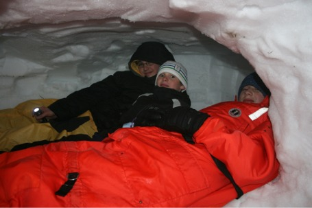 Snow Caves on Mt. Rainier